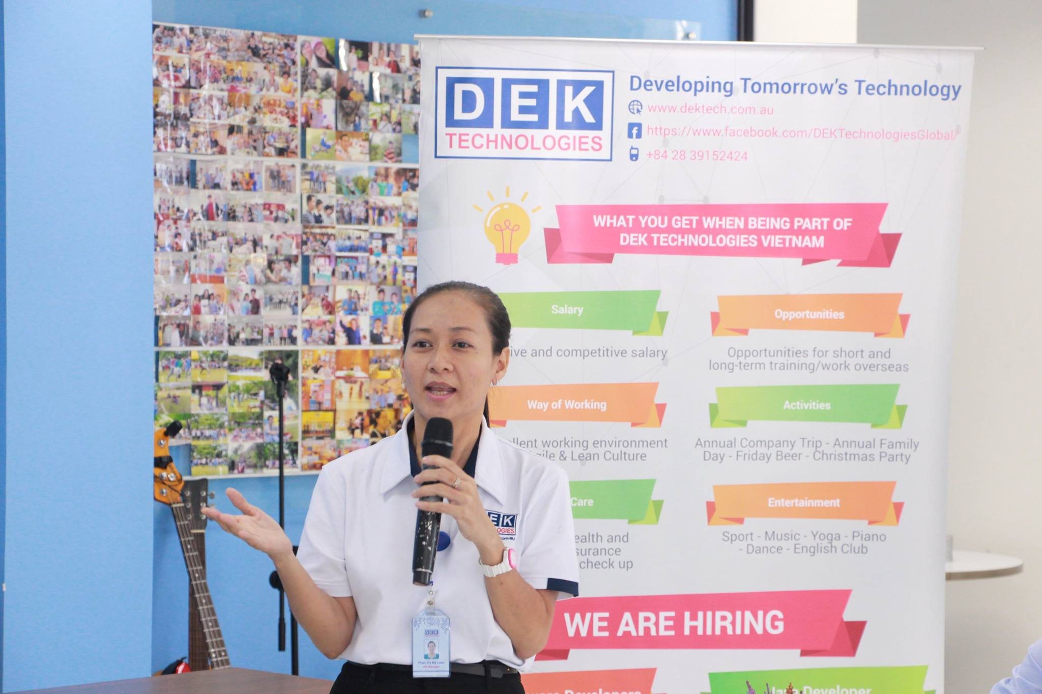 Erlang Seminar at DEK Technologies Vietnam with Loan