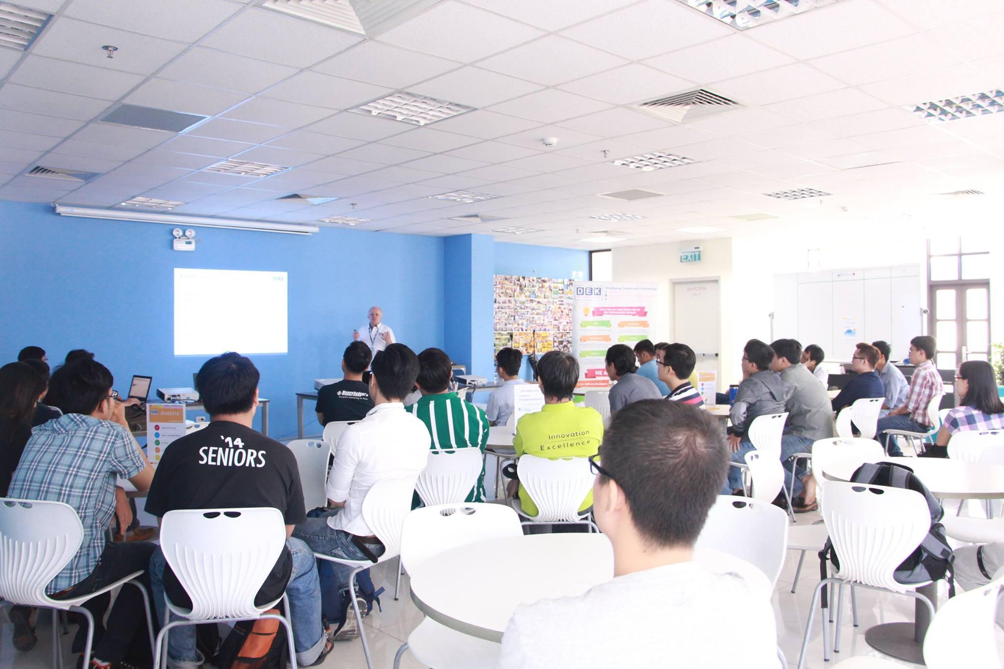 Erlang Seminar at DEK Vietnam