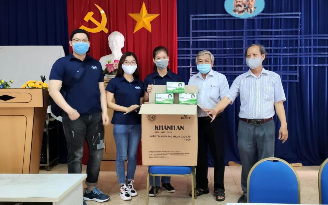 COVID-19 face mask donation